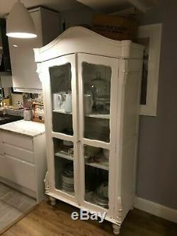 Amoire / Linen / Kitchen Cupboard French Style, Shabby Chic