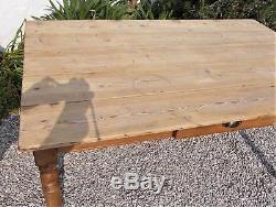 Antique table rustic French kitchen table dining table farmhouse shabby chic