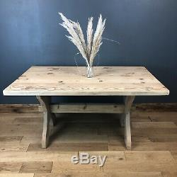 Beautiful Farmhouse Solid Chunky Pine Kitchen Rustic Shabby Chic Country