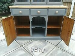 Bespoke Farmhouse Welsh Dresser Sideboard Cabinet Kitchen Dining Shabby Chic