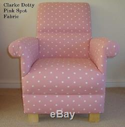 Clarke & Clarke English Rose Grey Fabric Chair Armchair Floral Shabby Chic New