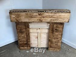 Collapsable, folding, Wooden home bar, Bespoke man cave bar, Shabby Chic