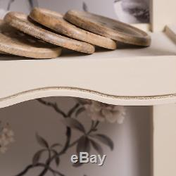 Cream Console Table Sideboard Hallway Table Shabby Vintage Chic Storage Kitchen