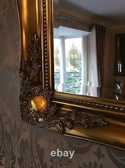 Large Antique Gold Mirror Choice of sizes available New Premium Quality