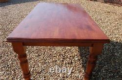 Large Chunky Country Kitchen Table Shabby Chic Project Detachable legs