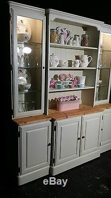 Large Ducal Pine Farmhouse Kitchen Welsh Dresser Shabby Chic F&B