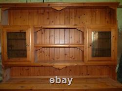 Large Pine Welsh Dresser Upcycle shabby chic project break out the Annie Sloane