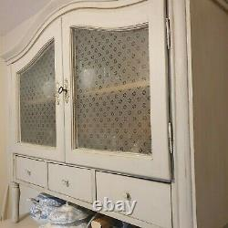 Large rustic dresser, painted pine, shabby chic, french