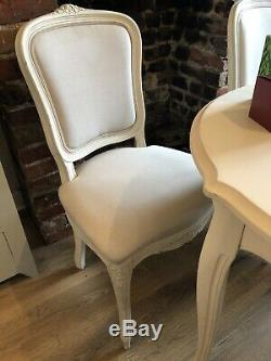 Laura Ashley Shabby Chic French Provencale Bistro Style Dining Table & 4 Chairs