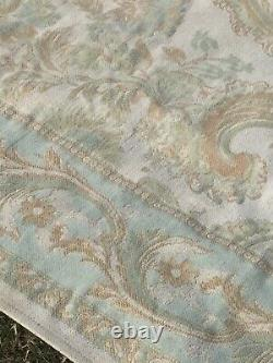 Laura Ashley wool mix Aubusson Style/ Shabby chic TAPESTRY Rug