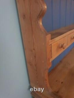 Lovely vintage pine welsh dresser possible shabby chic project