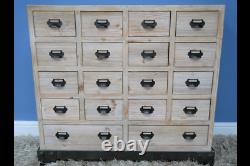 Multi Drawer Chest of Drawers Shabby Chic