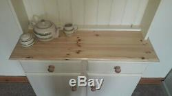 New Pine Kitchen Dresser Not Shabby Chic Choice Farrow & Ball Colours