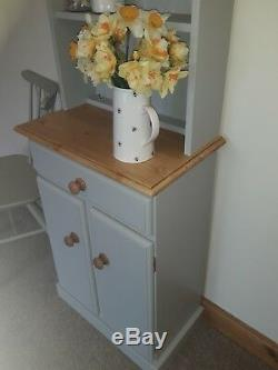 New Solid Pine Narrow Welsh Dresser Not Shabby Chic Farrow And Ball Colours