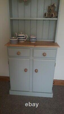 New Solid Pine Welsh Dresser Not Shabby Chic F&b All Colours