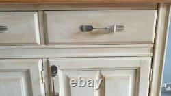 Painted Pine Sideboard/Welsh Dresser Base Shabby Chic Up-cycled