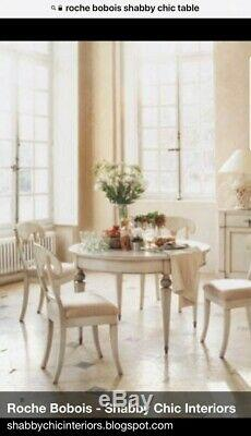 RARE Roche Bobois Shabby Chic Extendable Dining Table
