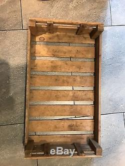 Rustic Wooden Freestanding Kitchen Rack With Fruit Crates Shabby Chic