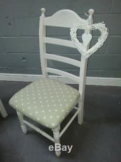 Shabby Chic 6ft x 3ft Table And Chairs Delivery available
