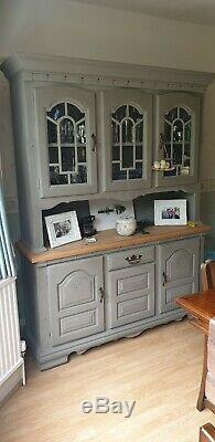 Shabby Chic Solid Pine Welsh Dresser Kitchen Sideboard Painted Annie Sloan
