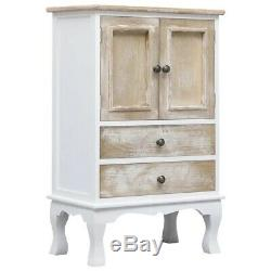 Small Shabby Chic Cabinet Vintage Cupboard Chest of Drawers Antique Storage Unit