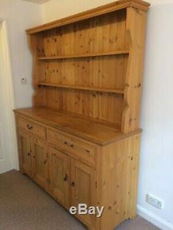 Solid Pine Welsh Dresser, country, farmhouse, shabby chic project, storage