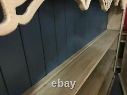 Solid Wooden Welsh Dresser Shabby Chic Kitchen/Dining Room wonderful condition