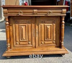 Vintage French Sideboard Buffet Cupboard Louis XV style Shabby Chic project