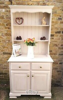 Welsh Dresser Sideboard Cabinet French Farmhouse Shabby Chic Vintage Painted