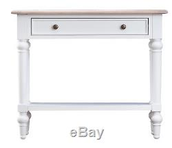 White Painted Console Table / Narrow Hallway Unit / Shabby Chic Furniture / C22