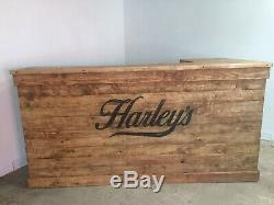 Wooden Home Bar, Reclaimed Timber, Shabby Chic, Man/Girl Cave