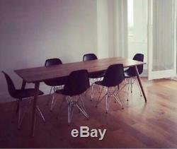 Wooden Kitchen Table Dining Room Large 6 or 8 Seater Rustic Shabby Chic 200cm
